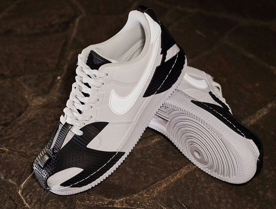 Nike Air Force One Indestructible blanche (4)