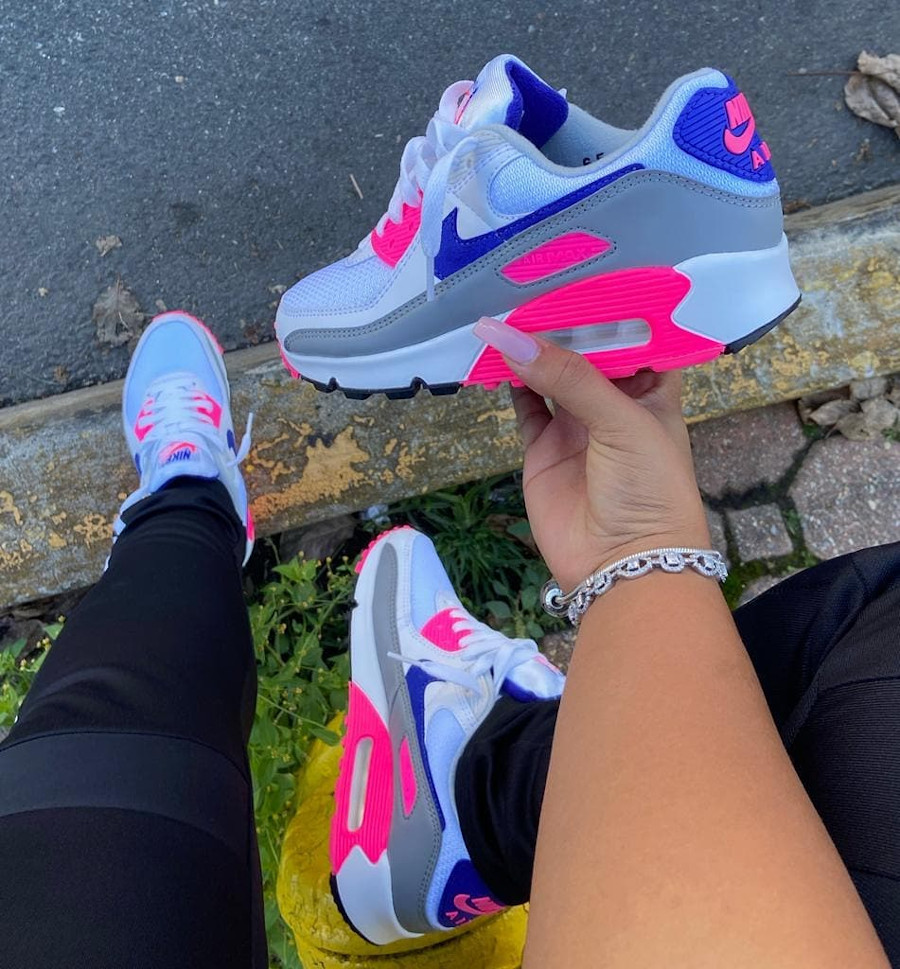 Nike Air Max 3 90 OG Recrafted Concord Pink CT1887-100