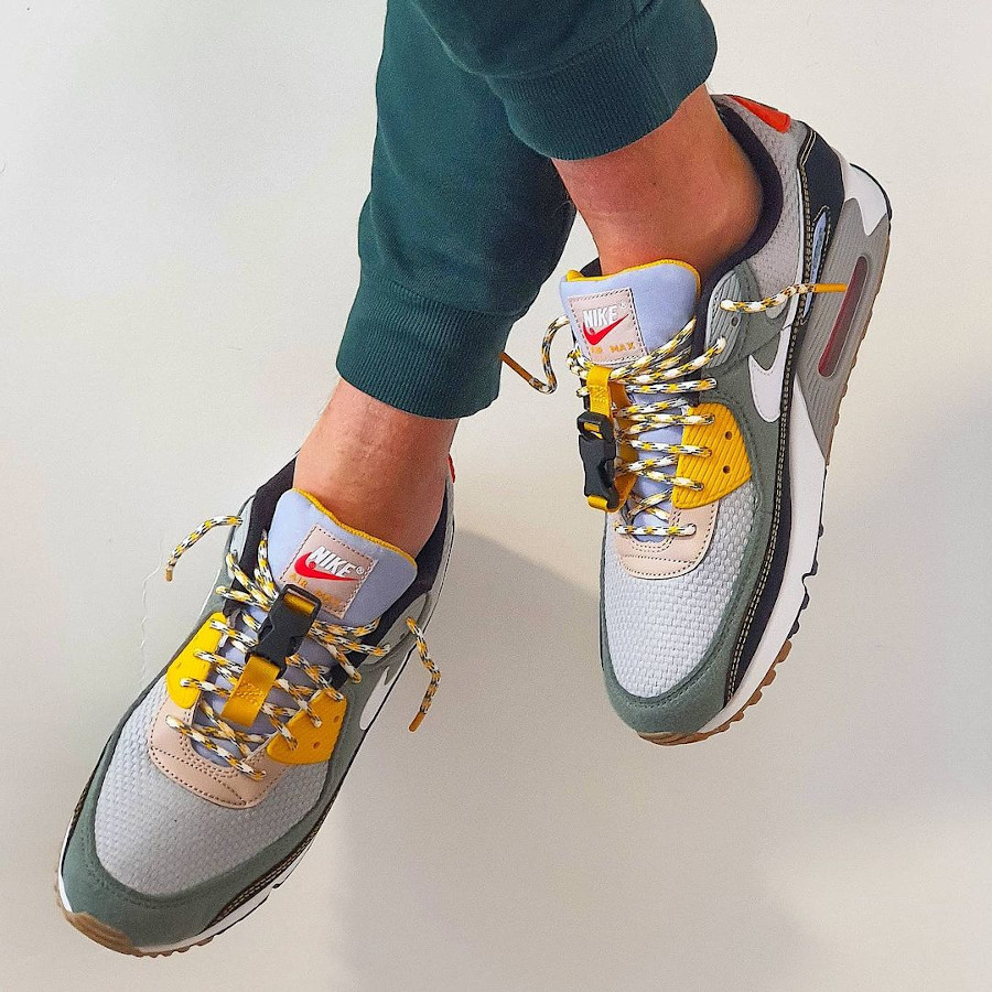 Nike Air Max 3 Fresh Perspective on feet (1)