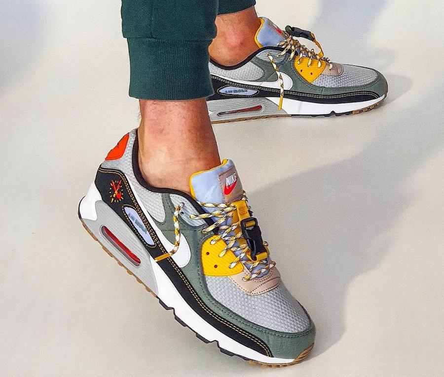 Nike Air Max 3 Fresh Perspective on feet (2)