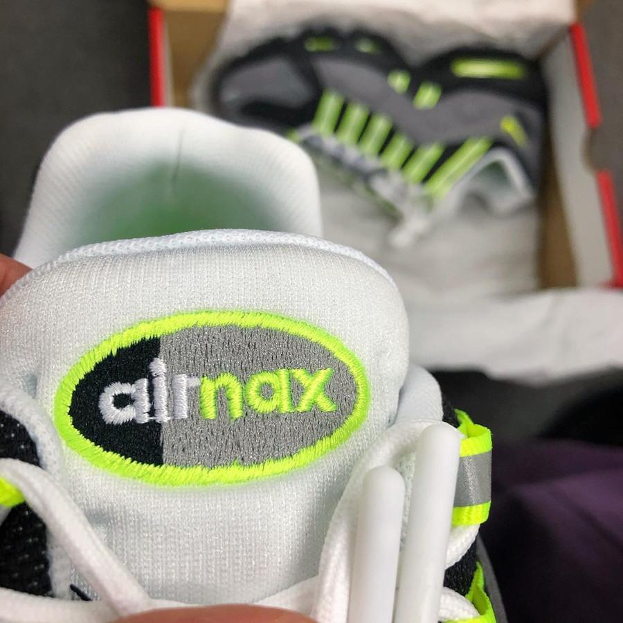 Nike Air Max 95 Indestructible grise noire et jaune fluo (2)