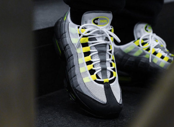 Nike Air Max 95 OG Neon Yellow 2020 25th CT1689 001