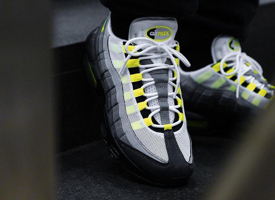 Nike Air Max 95 OG Neon Yellow 2020 25th CT1689 001