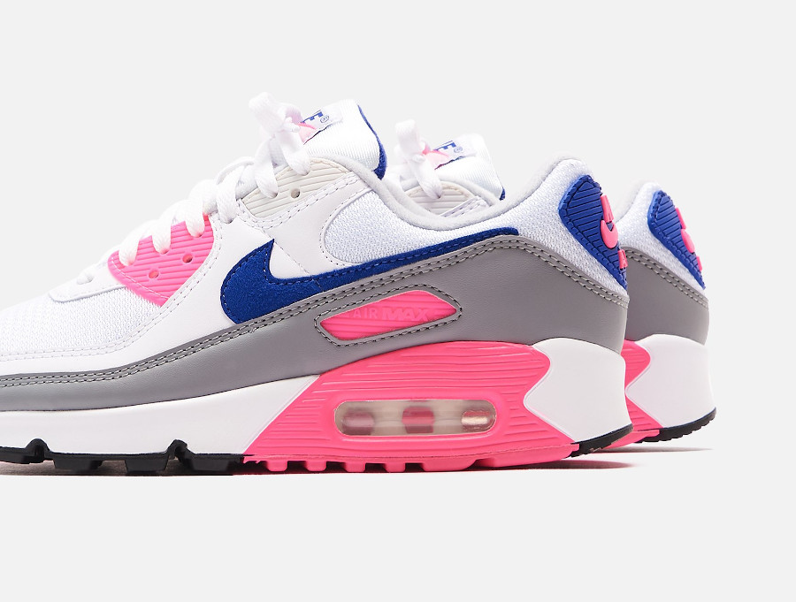 Nike Air Max III Originale blanche grise et rose (4)