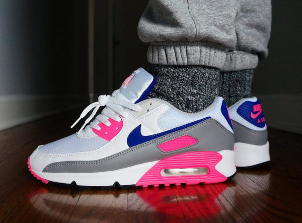 Nike Air Max III Originale blanche grise et rose (5)