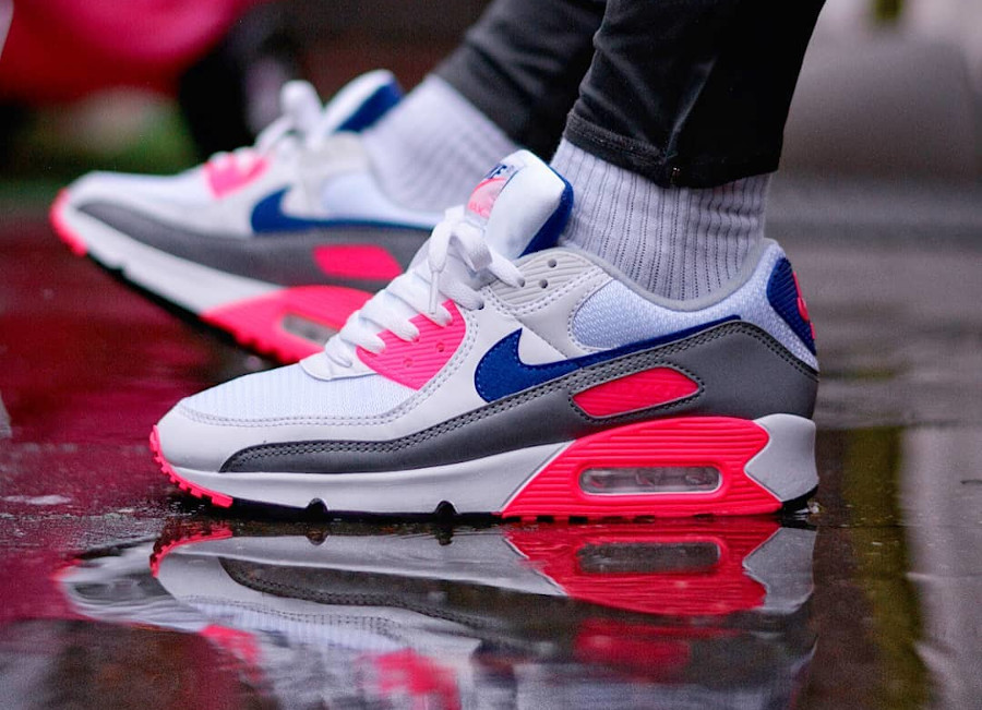 Nike Air Max III Originale blanche grise et rose (6)
