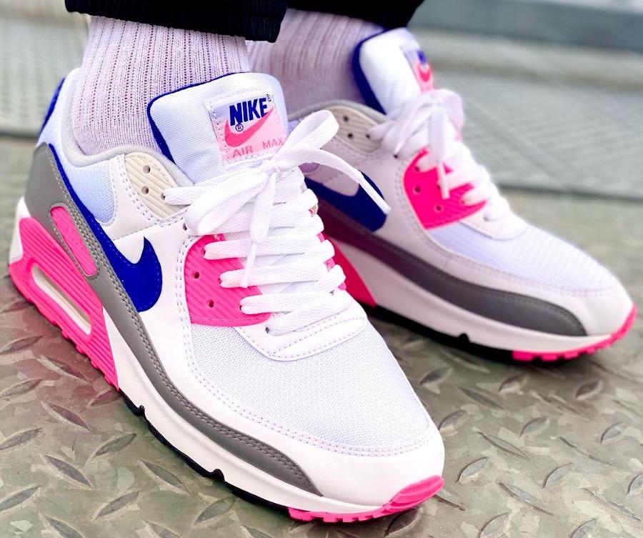 Nike Air Max III Originale blanche grise et rose (8)