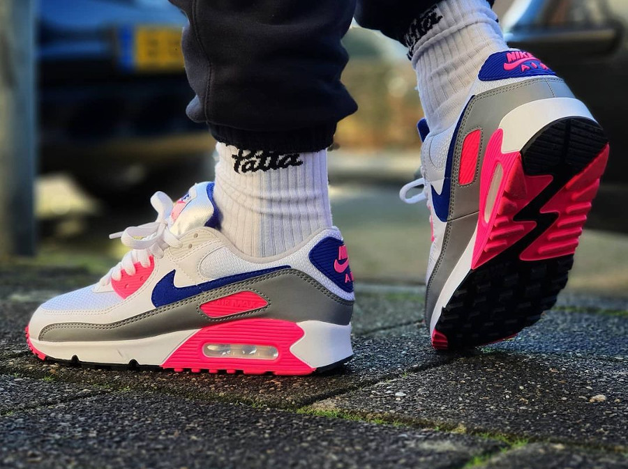 Nike Air Max III Originale blanche grise et rose (9)