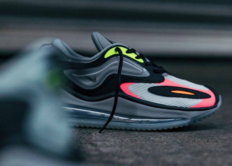 Nike Air Max Zephyr grise rose et vert fluo (1)