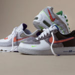 Nike Air Force 1 '07 NRG Recycled Grey Electric Green