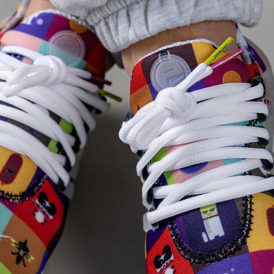 Nike Air Presto illustrations de 2000 on feet (2)