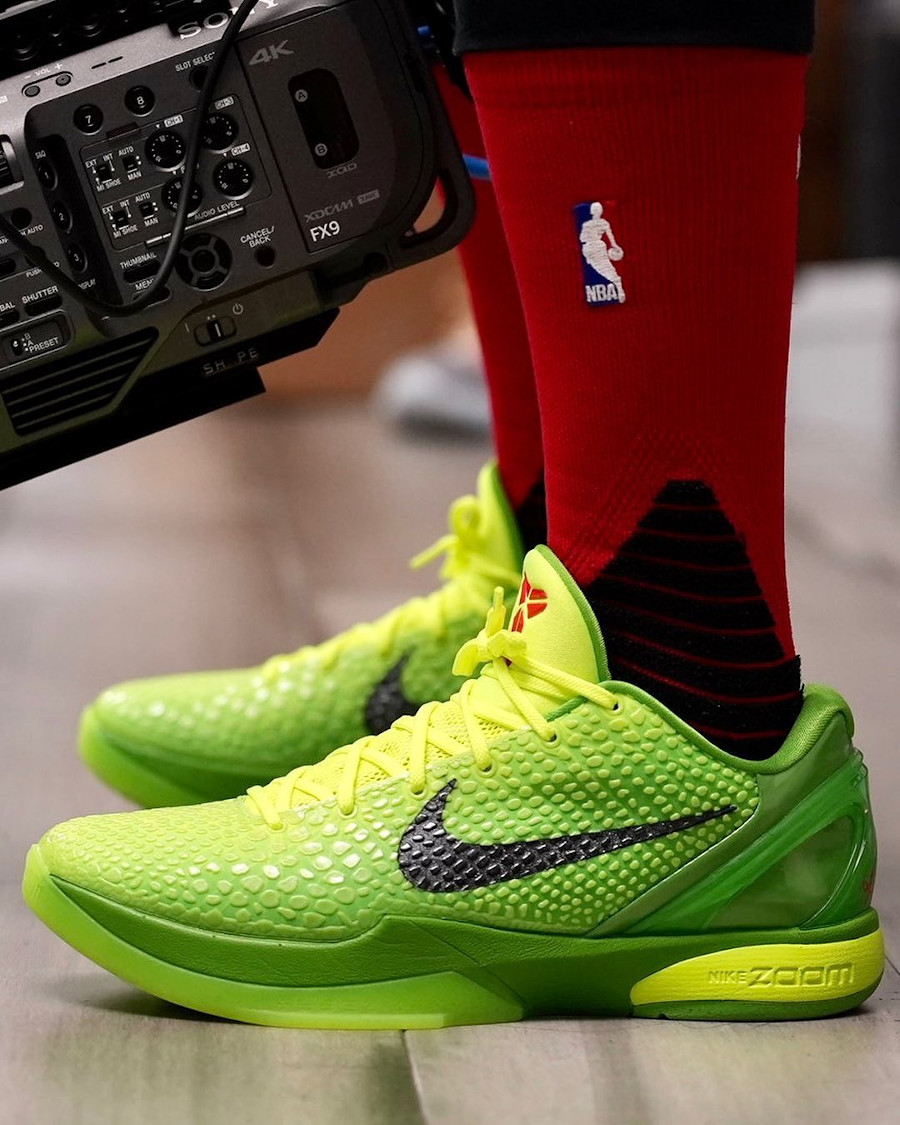 Nike Kobe 6 Protro Grinch Apple Green 2020 CW2190-300