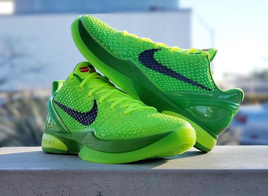 Nike Kobe VI reptile vert fluo (1)
