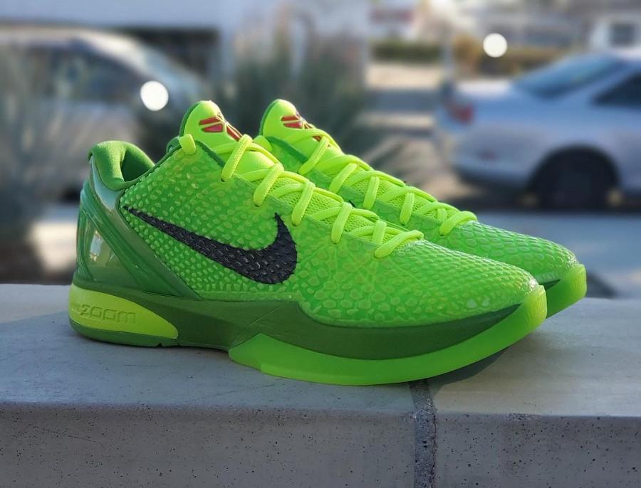 Nike Kobe VI reptile vert fluo (2)