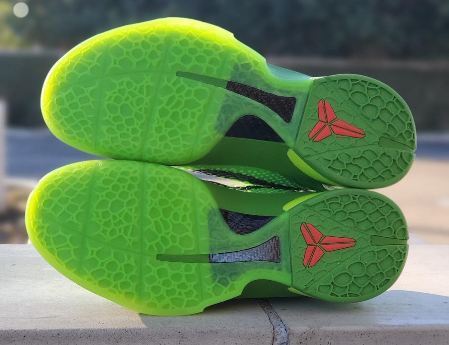Nike Kobe VI reptile vert fluo (4)
