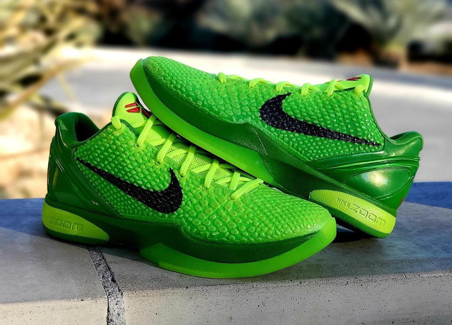 Nike Kobe VI reptile vert fluo (5)