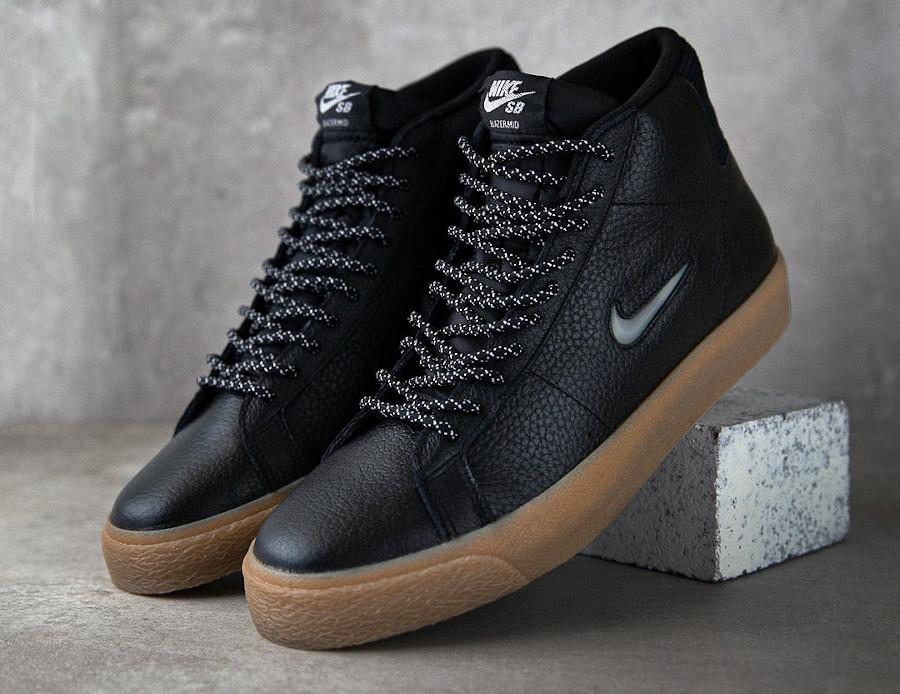 Nike SB Blazer Mid Black Gum CU5283-001
