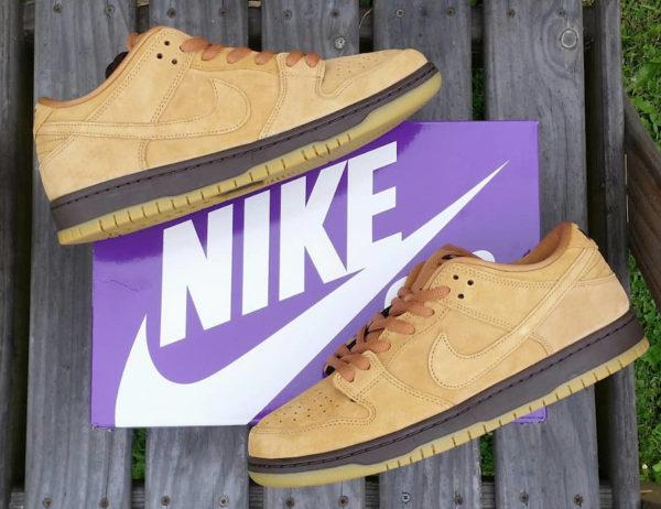 Nike SB Dunk Low Pro Wheat Mocha Flax BQ6817-204