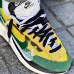 Sacai x Nike VaporWaffle Tour Yellow Gorge Green Sail