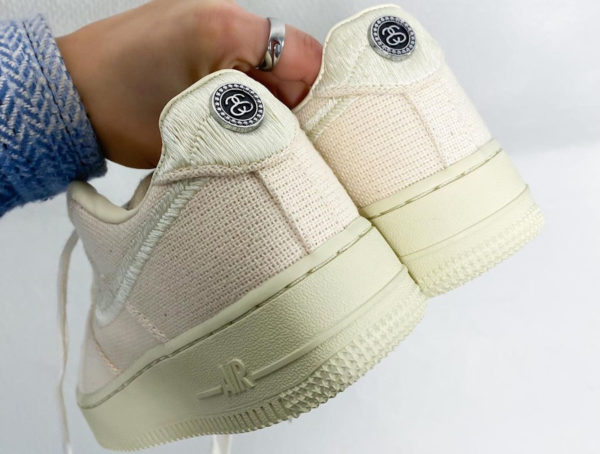 Nike x Stussy Air Force 1 AF1 Low Fossil Stone CZ9084-200