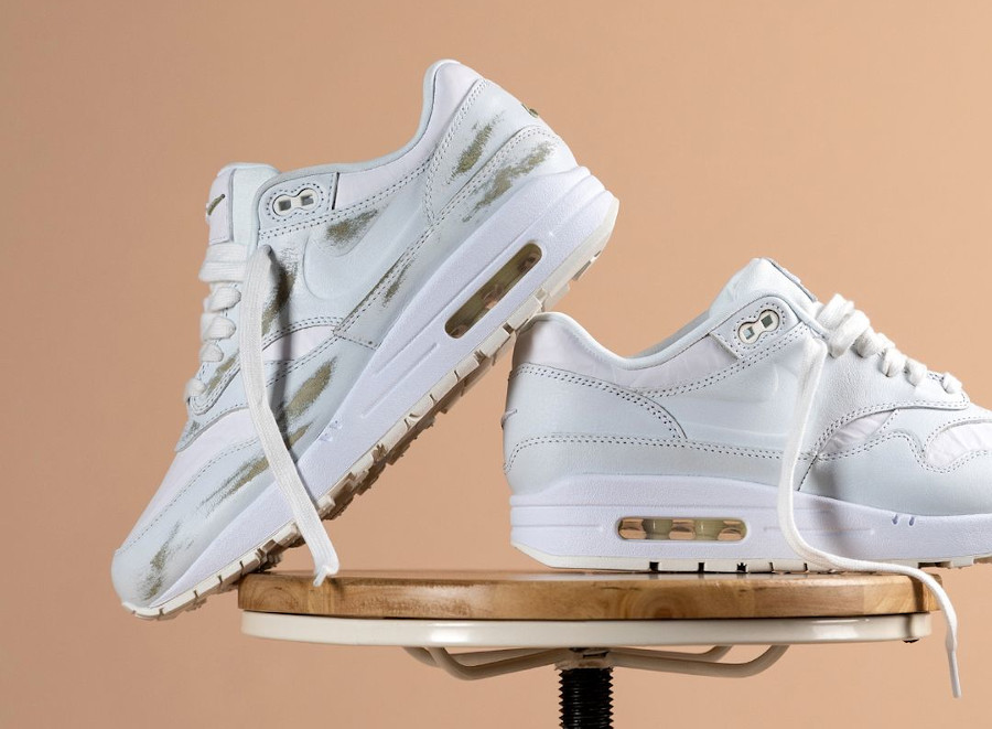 Women's Nike Air Max 1 HH blanche (1)