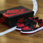 Air Jordan 1 Retro Low Bred Chinese New Year 2021