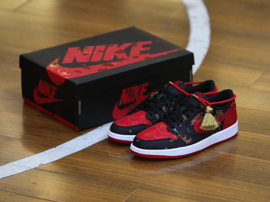 AJ1 Low Bred CNY Chinese New Year 2021 Ox DD2233-001