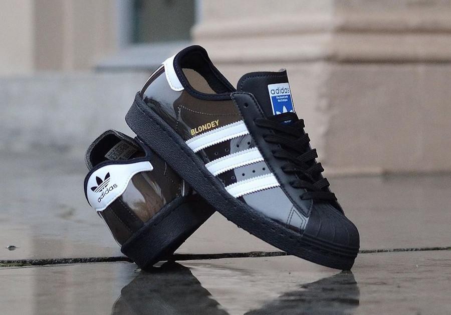 Adidas Blondey Superstar Transparente Core Black H01022