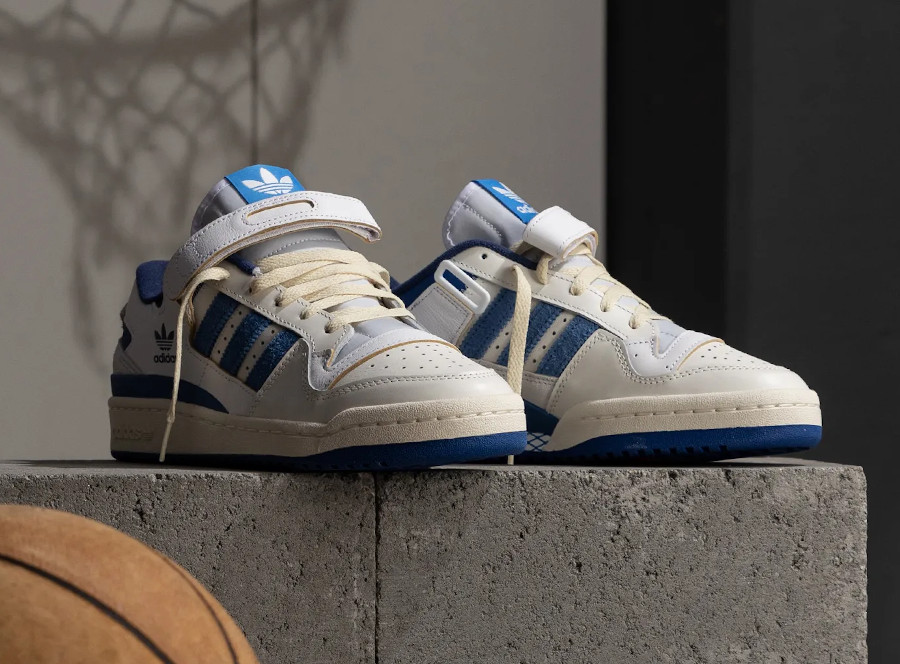 Adidas Forum 84 Low OG White Bright Blue 2021 S23764