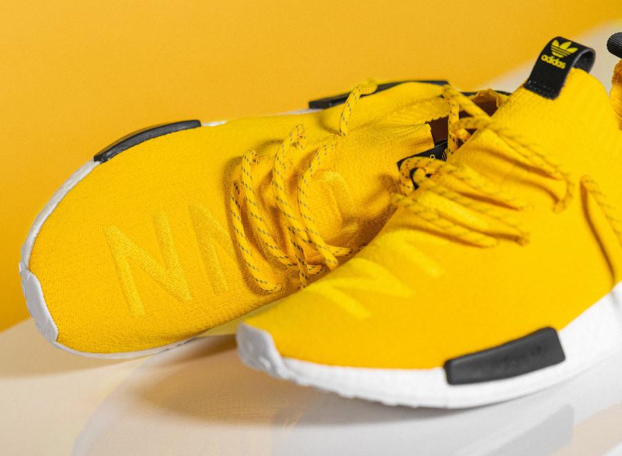 Adidas NMD Primeknit jaune et noire (3)