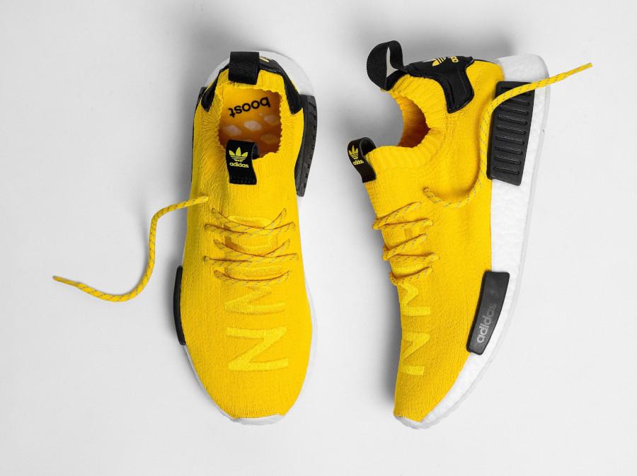 Adidas NMD Primeknit jaune et noire (5)