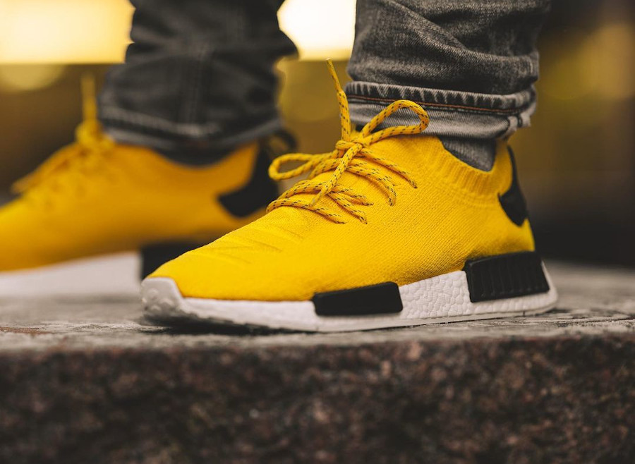 Adidas NMDR1 PK EQT Yellow Core Black S23749
