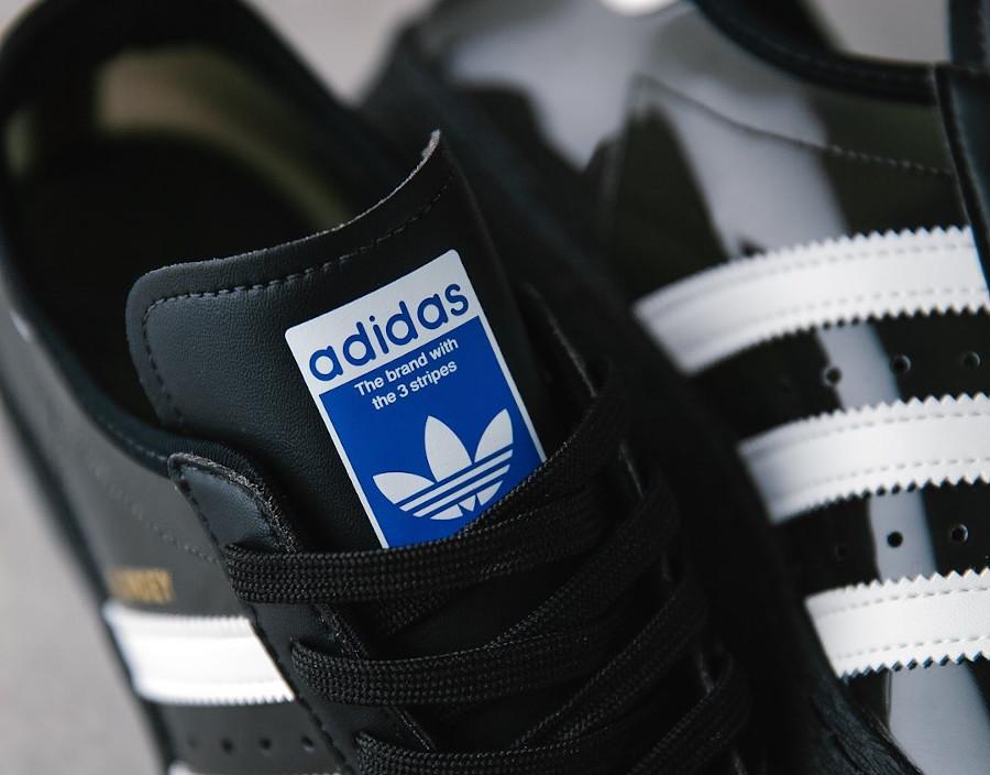 Adidas Superstar Skate 80 noire et transparente (2)
