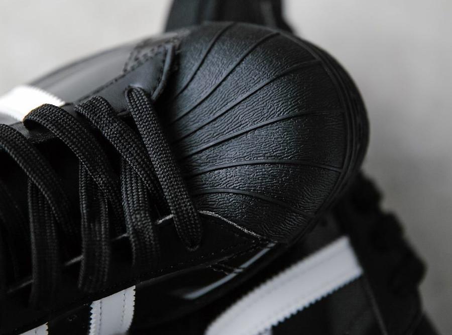 Adidas Superstar Skate 80 noire et transparente (3)