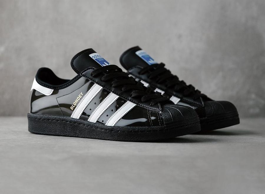 Adidas Superstar Skate 80 noire et transparente (4)