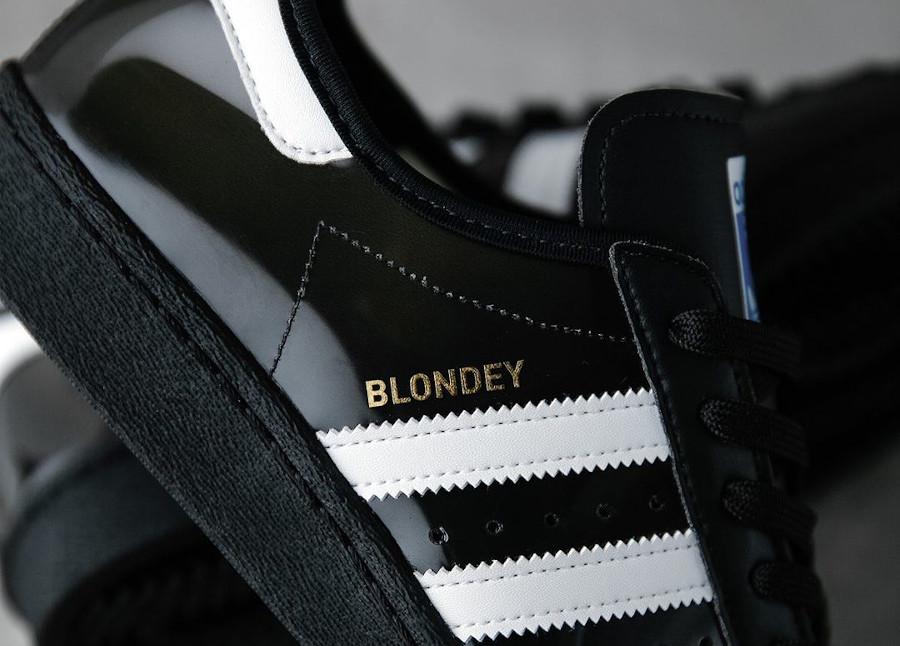 Adidas Superstar Skate 80 noire et transparente (5)
