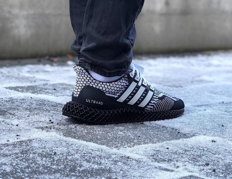 Adidas Ultra Boost 4D blanche et noire (6)