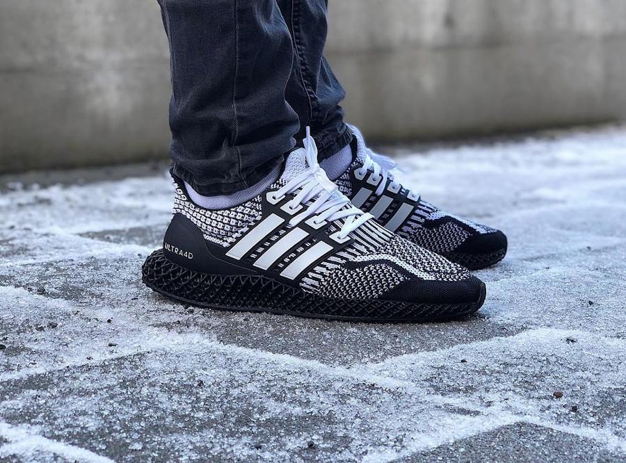 Adidas Ultra Boost 4D blanche et noire (7)