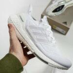 Adidas Ultra Boost 2021 Triple White (Iridescent)