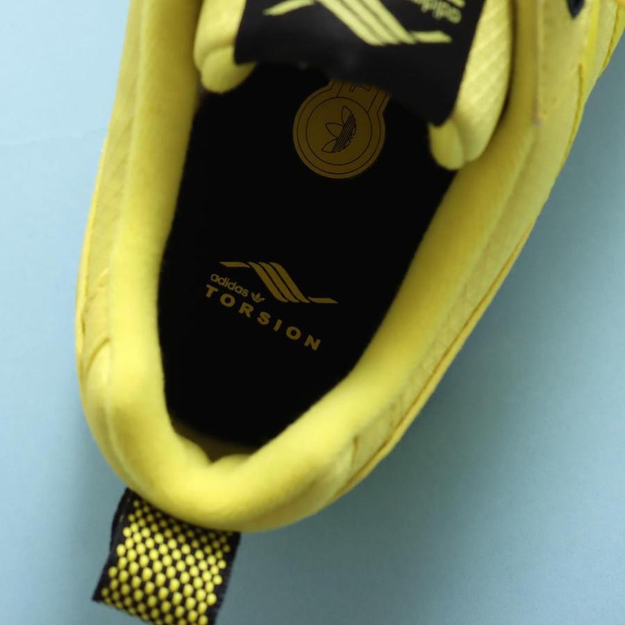Adidas ZX 5000 toute jaune (3)