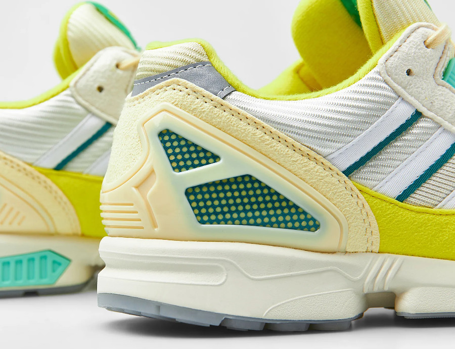 Adidas ZX 8000 2021 jaune citron et vert menthe (1)