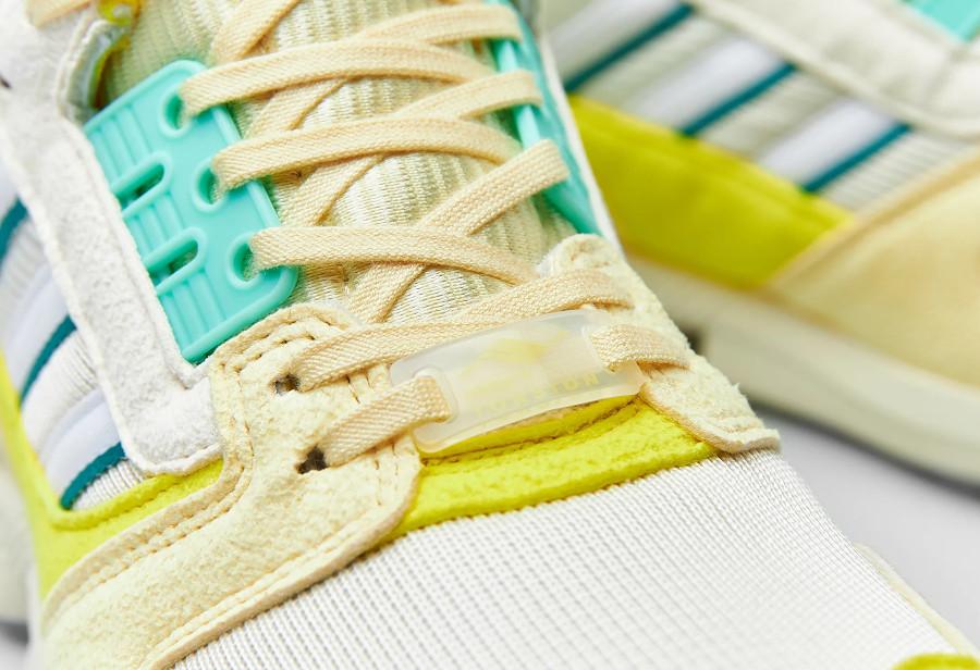 Adidas ZX 8000 2021 jaune citron et vert menthe (3)