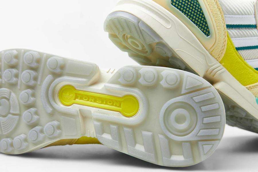 Adidas ZX 8000 2021 jaune citron et vert menthe (5)