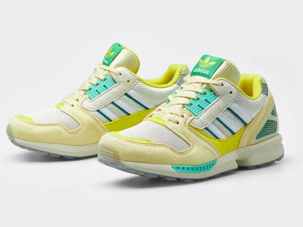 Adidas ZX 8000 AZX Frozen Lemonade Mist Sun H68010