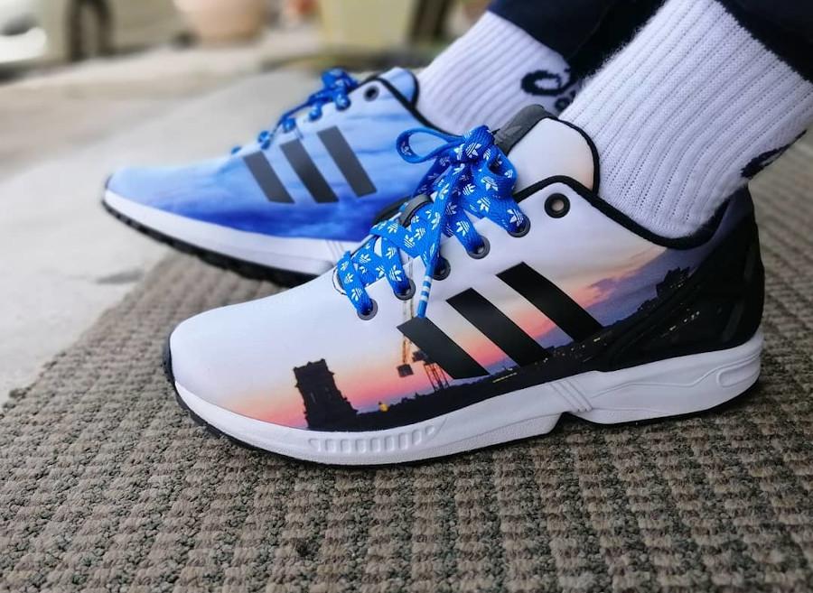 Adidas ZX Flux Mi Flux - @azlanavy