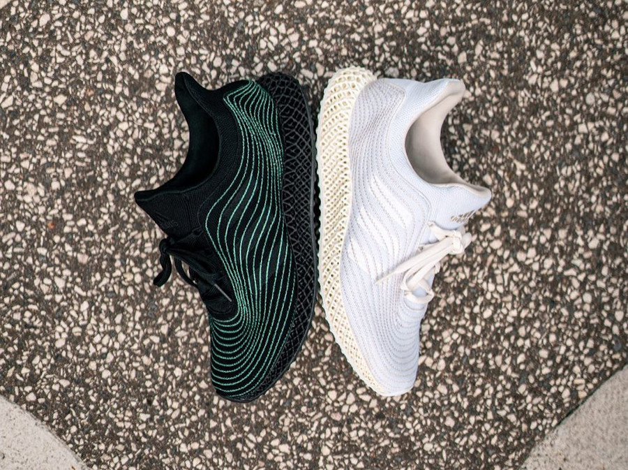Adidas x Parley Ultra 4D Uncaged Cream White FZ0596