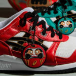 Asics Gel Lyte III OG 'Daruma' Baltic Jewel & Classic Red