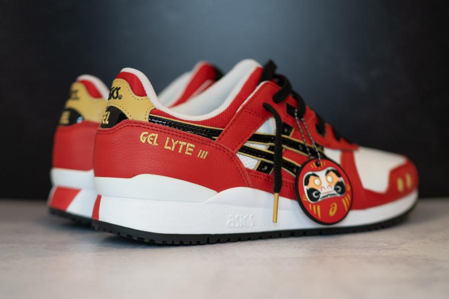 Asics Gel Lyte III OG poupée japonaise rouge et noir (1)