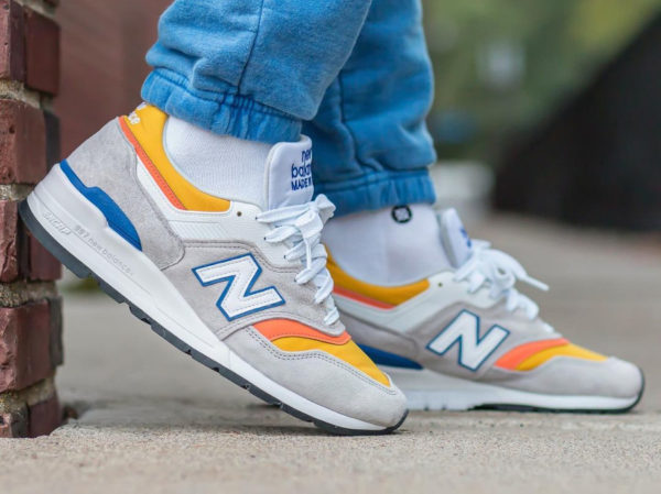 NB M997PT Grey Yellow Orange Blue