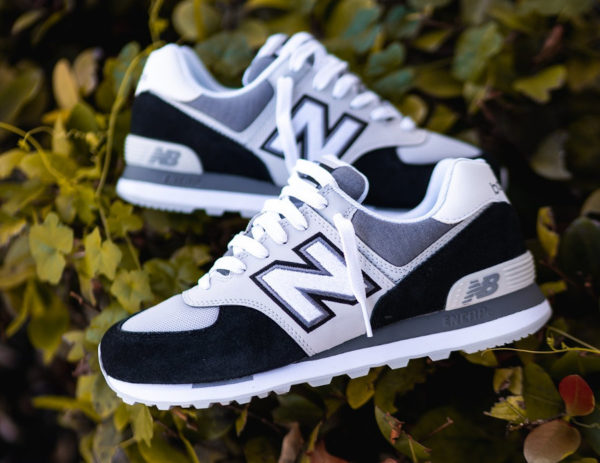 New Balance 574 ML574NLC Sky Lite Black White